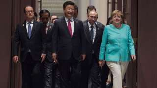Thủ tướng Đức Angela Merkel tham dự G20 năm 2016