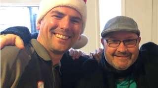Dave Faulconbridge and Peter Hoad-Owen