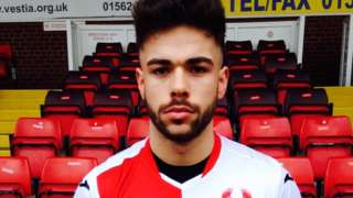 New Kidderminster Harriers signing Evan Garnett