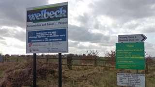 Welbeck site sign