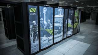 The Met Office's existing supercomputer