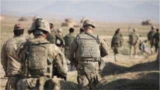 US troops in Afghanistan (file pic)