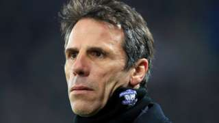 Gianfranco Zola took over as manager of Birmingham City on 14 December