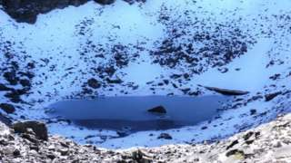 Roopkund: Glacial Lake of Skeleton,Himalaya