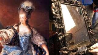 Marie Antoinette and Marie Antoinette's mirror