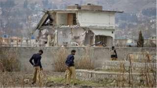 Ile ti Osama Bin laden gbe ni Pakistan