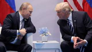 Putin meets Trump