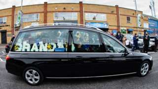 Tommy Robson hearse