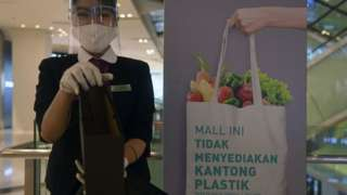 larangan plastik, jakarta, psbb, covid-19