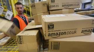 Amazon facility in Germany