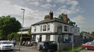 The Queens Arms in Great Knollys Street