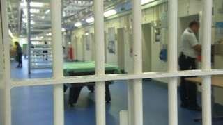 Inside Cardiff prison