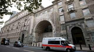 MI5's London headquarters