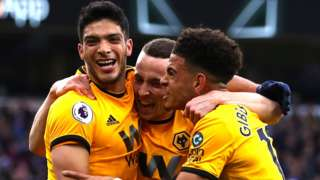 Raul Jimenez, Diogo Jota, Morgan Gibbs-White, Wolverhampton Wanderers