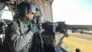 Американский военный в Ираке