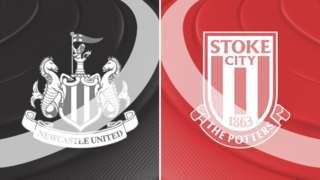 Newcastle v Stoke