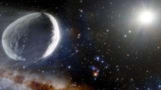 Ilustração do cometa Bernardinelli-Bernstein