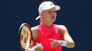 British number three tennis player Harriet Dart