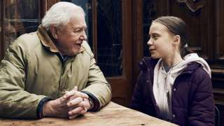 David Attenborough and Greta Thunberg
