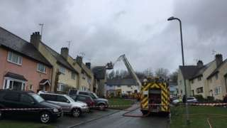 House fire in Beaumaris