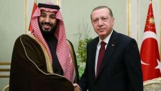 Bin Salman na Erdogan