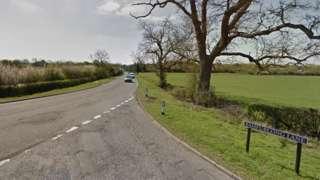 Bamfurlong Lane and Badgeworth Road, Cheltenham.