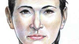 Форензички цртеж Жене из Исдала