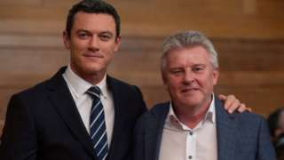 Luke Evans and Steve Wilkins