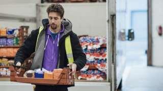 Food industry worker
