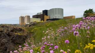 Wylfa, site of old and new nuclear plants for Anglesey