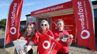 Vodafone staff