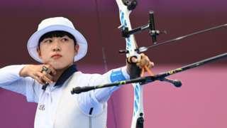 韓國射箭選手安山