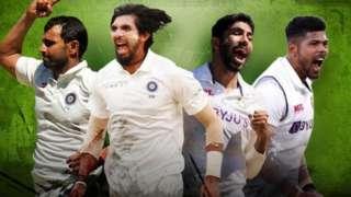 انڈیا کے تیز رفتار باولر
