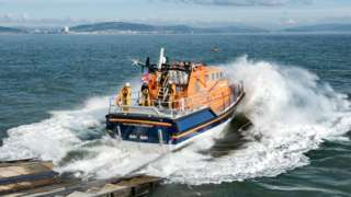 The Mumbles RNLI lifeboat