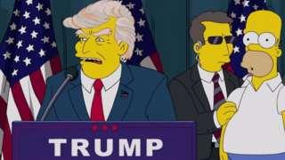 Donald Trump nos Simpsons