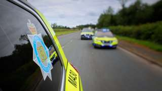 Library image of Cumbria Police cars