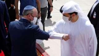 以色列国家安全顾问于9月1日历史性乘机飞往阿联酋。