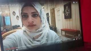 لقطة من الفيديو الذي نشرته أم سيف