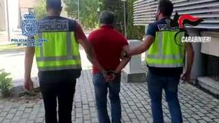 Domenico Paviglianiti arrested in Madrid
