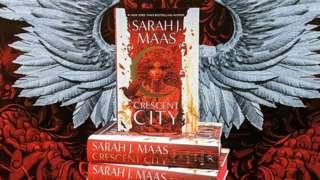 Crescent City book display