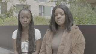 Karissa Johnson and Thelma Khupe