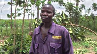 Simeon Randinga joined Spencon as a janitor. He dreamed it would bring a better life.