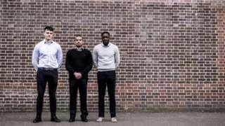 Ben Henderson, Amaan Abdulrahman and Elvis Siaw: trying to break into the elite