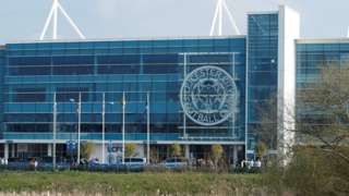 King Power Stadium, in Leicester