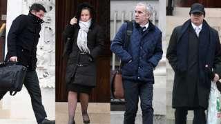 Joel Ishmail, Samantha Bevan, Jeffrey Bevan and Paul Charity are accused