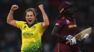 Australia celebrate