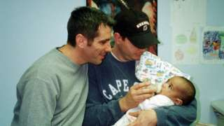 Danny and Pete picked up Kevin from the foster care agency on Friday 22 December 2000