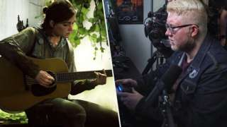 Steve Saylor playing The Last of Us Part II