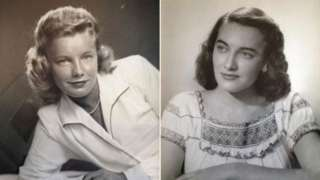 Martha Young Williams (L) and Jean Young Haley