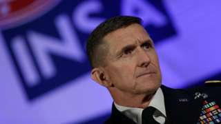 Defense Intelligence Agency Director Lt. Gen. Michael Flynn speaks in Washington, DC.